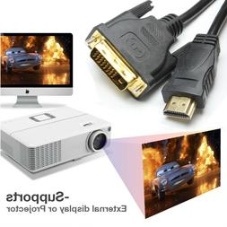 Cable Matter Bi-Directional DVI-D To HDMI Cable Switch 1080p
