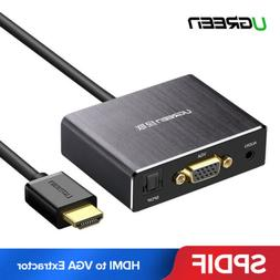 Ugreen HDMI to VGA Optical Extractor Splitter 4K Audio Video
