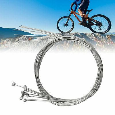 10X Bicycle Bike Brake Cable Stainless Front Rear Inner Wire 6.4ft / 1.95m